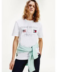 Tommy Hilfiger - Navigator Logo Relaxed Fit T-shirt - Lyst