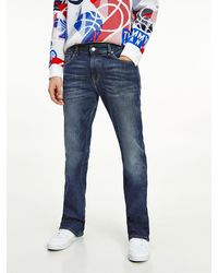 Tommy Hilfiger Ryan Bootcut Jeans mit Fade-Effekt - Blau