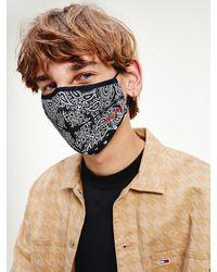 Tommy Hilfiger Bandana Print Face Cover - Blue