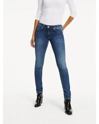 Tommy Hilfiger Jeans Low Rise Skinny Sophie Rbst - Blauw