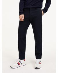 Tommy Hilfiger Th Flex Slim Fit Broek - Groen