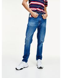 Tommy Hilfiger Rey Relaxed Fit Tapered Jeans - Blauw