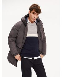 Tommy Hilfiger - Padded Heavy Canvas Parka - Lyst