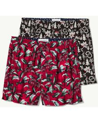 Tommy Bahama - Big Leaves & Hula Holiday Woven Boxers - 2-pack - Lyst