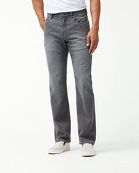 Tommy Bahama Belize Authentic Fit Jeans - Gray