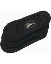 Tommy Bahama Relax Loafer Liners - 3-pack - Black