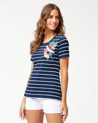 Tommy Bahama - Parrot Trap Embroidered T-shirt - Lyst