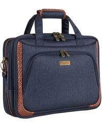 Tommy Bahama Royce Briefcase - Blue
