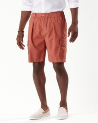 Tommy Bahama Bahama Survivor 8-inch Elastic-waist Shorts - Red