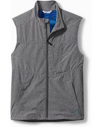 Tommy Bahama Big & Tall Chip Shot Islandzone® Vest - Gray