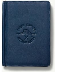 Tommy Bahama American Golfer Score Card And Passport Holder - Blue