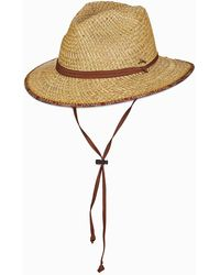 Tommy Bahama Deluxe Rush Straw Hat - Natural