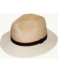 Tommy Bahama Two-tone Kirini Safari Hat - Natural