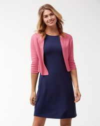 Tommy Bahama - Pickford Cropped Dress Cardigan - Lyst