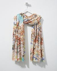 Tommy Bahama Party Animal Scarf - Multicolor