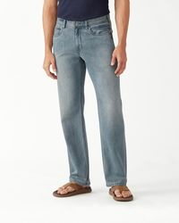 Tommy Bahama Cayman Island Relaxed Fit Jeans - Blue