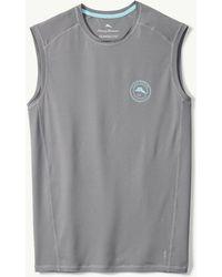Tommy Bahama Islandactive® Breakline Sleeveless Shirt - Gray