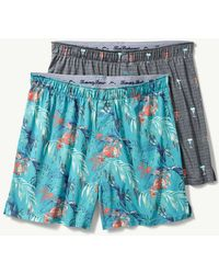 Tommy Bahama - Drinks & Line Leaves Knit Boxers - 2-pack - Lyst