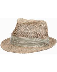 Tommy Bahama Vent Linen Seagrass Fedora - Multicolor