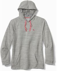 Tommy Bahama French Terry Hoodie - Gray