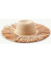 Tommy Bahama - Tahitian Fun Fringe Hat - Lyst cf201318fe27