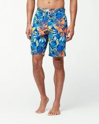 Tommy Bahama - Big & Tall Baja Hibiscus Beach Board Shorts - Lyst