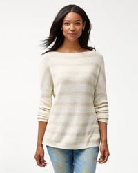Tommy Bahama - Pickford Lurex Stripe Pullover - Lyst