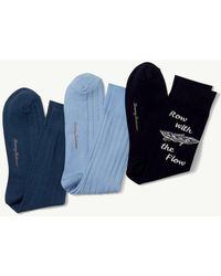 Tommy Bahama - Row With The Flow Socks - 3-pack - Lyst