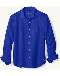 Tommy Bahama - Big & Tall Sea Glass Breezer Linen Shirt - Lyst