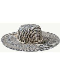 Tommy Bahama - Island Navy Beach Hat - Lyst 4012d3be3d2
