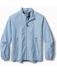 Tommy Bahama Chip Shot Oxford Islandzone® Jacket - Blue