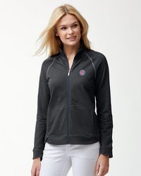 Tommy Bahama Mlb® Winning Streak Full-zip Jacket - Multicolor