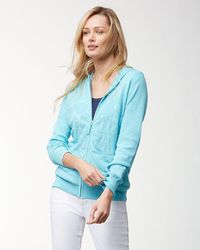 Tommy Bahama - Sea Glass Tropical Hooded Sweater - Lyst