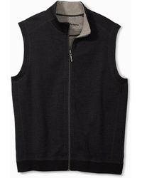 Tommy Bahama Big & Tall New Flipsider Full-zip Vest - Multicolor