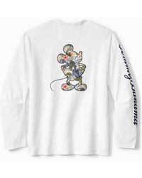 Tommy Bahama Disney Jungle Jubilee Long-sleeve T-shirt - White