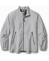 Tommy Bahama Chip Shot Oxford Islandzone® Jacket - Gray