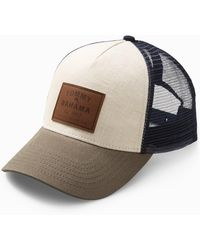 Tommy Bahama Classic Patch Trucker Cap - Natural