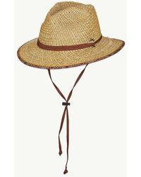 Tommy Bahama Deluxe Rush Lifeguard Hat - Natural