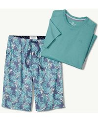 Tommy Bahama - Leaves Woven Lounge Short Set - Lyst