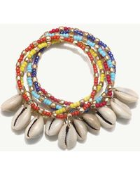Tommy Bahama - Cowrie Beaded Bracelet - Lyst