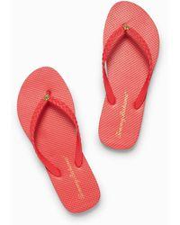 Tommy Bahama Whykiki Braid Flip Flops - Red