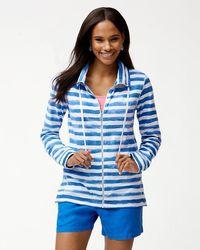 Tommy Bahama | Knoll Bellarossa Stripe Full-zip Jacket | Lyst
