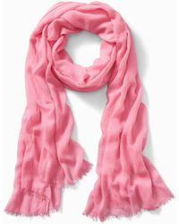 Tommy Bahama Solid Crinkle Scarf - Pink