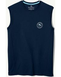 Tommy Bahama Islandactive® Beach Pro Sleeveless T-shirt - Blue