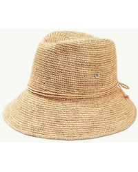 9e5aba14411 Lyst - Tommy Bahama Sea Glass Sun Hat in White
