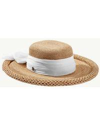 Tommy Bahama Medium Brim Scarf Hat - Multicolor