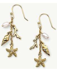 Tommy Bahama - Swarovski® Crystal Sealife Cluster Earrings - Lyst