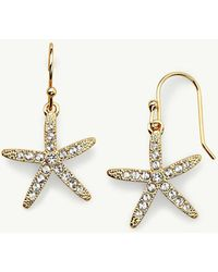 Tommy Bahama - Swarovski® Crystal Starfish Earrings - Lyst