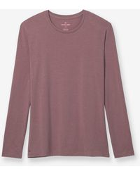 Tommy John - Second Skin Long Sleeve Crew Neck Tee - Lyst