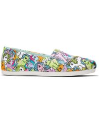 TOMS My Little Pony Power Print Alpargata - Blau